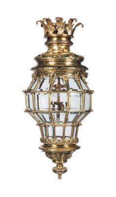 A LARGE ORMOLU VERSAILLE-STYLE