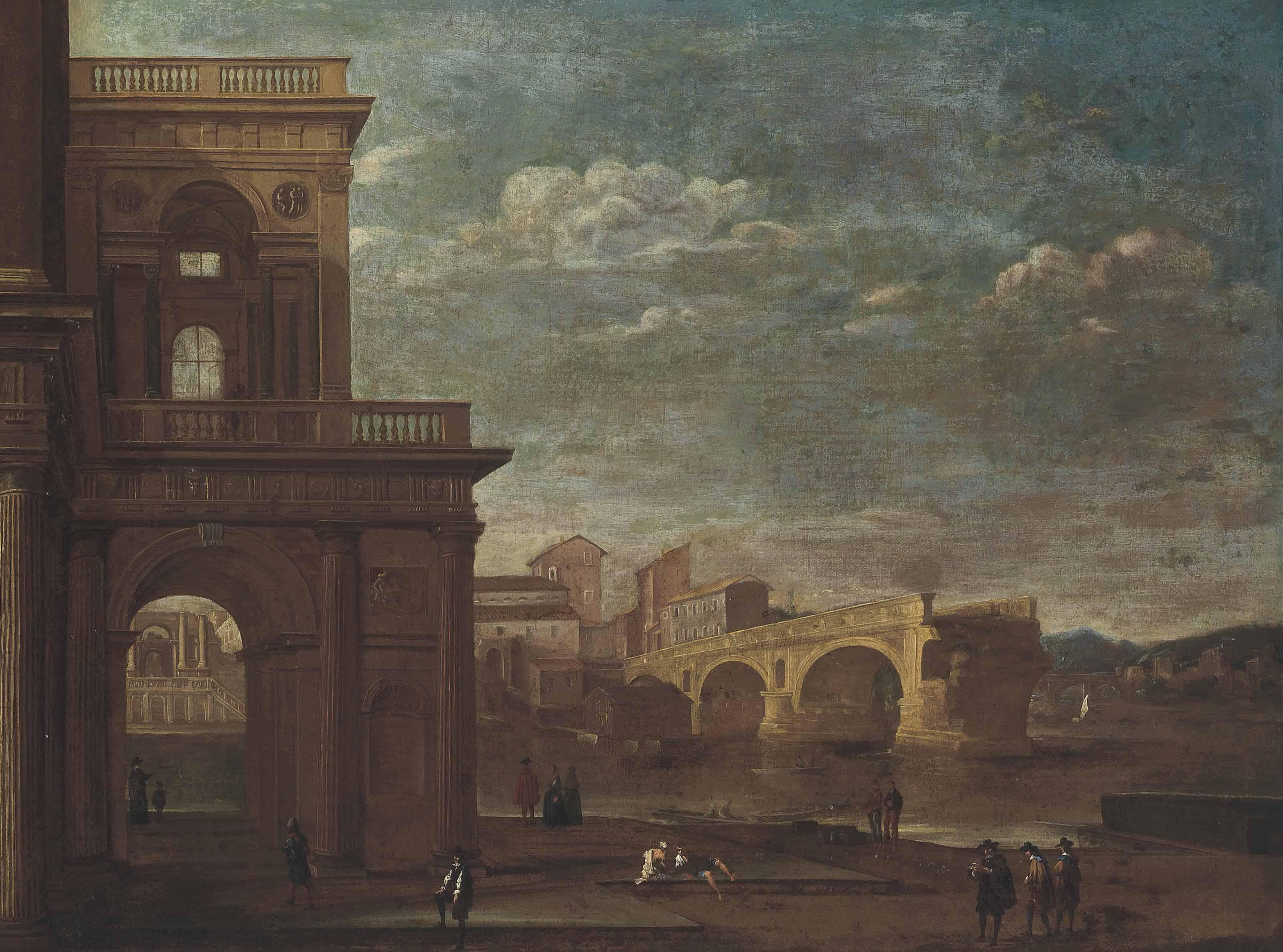 Circle of Viviano Codazzi (Bergamo c.1604-1670 Rome)