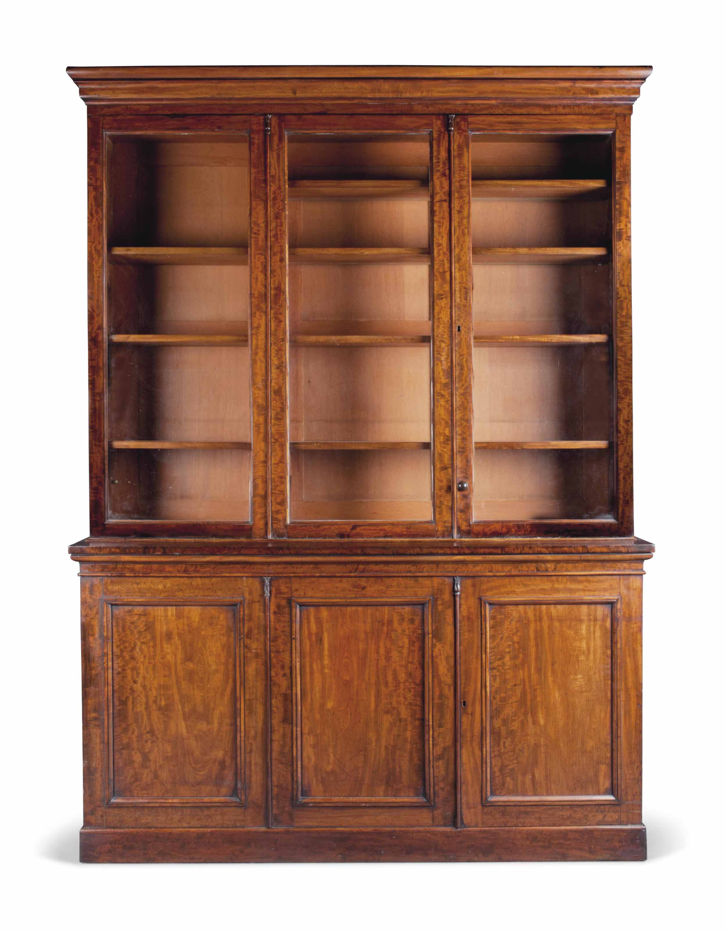 A Victorian Mahogany Bookcase Third Quarter 19th Century