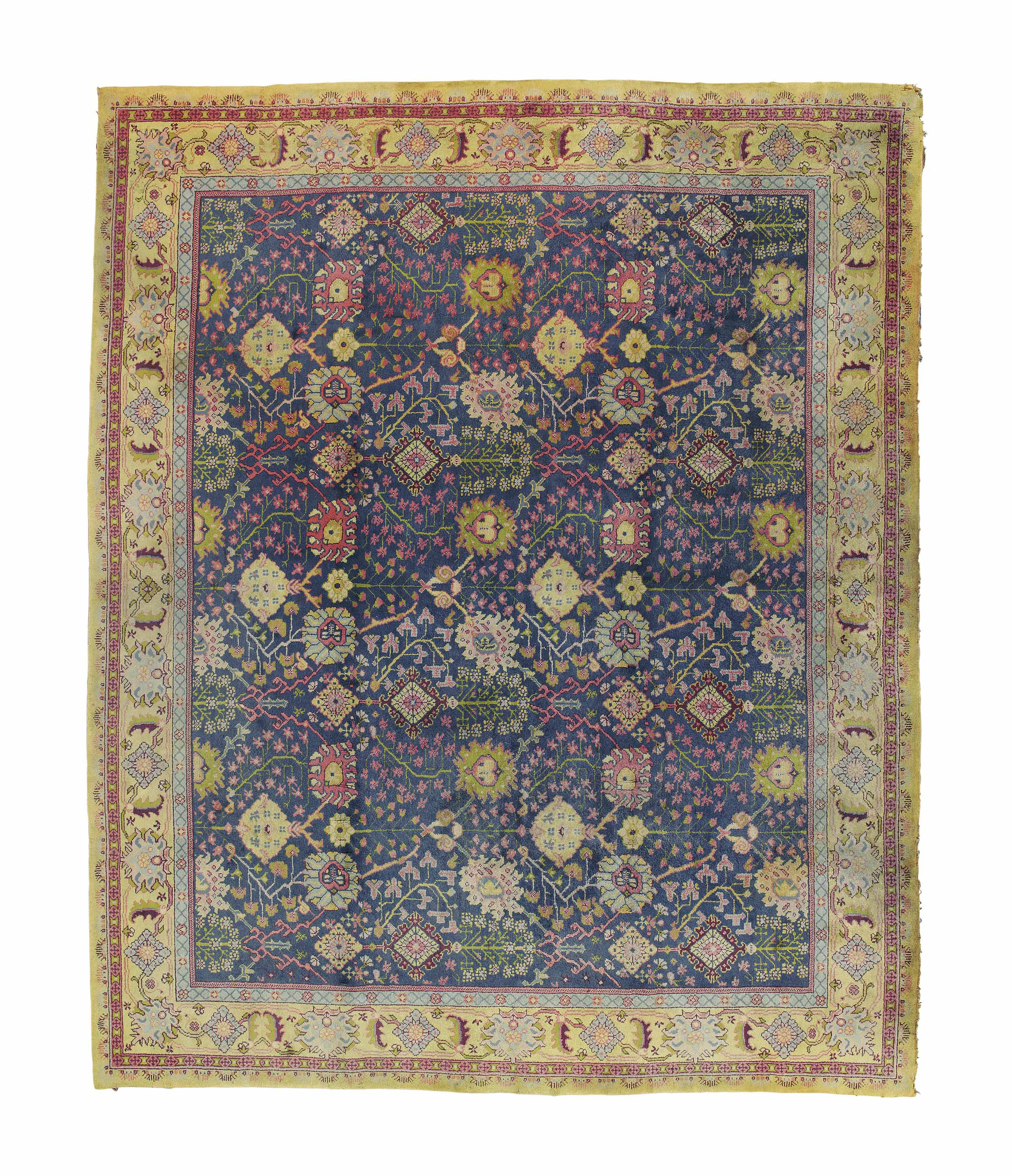 AN ARTS & CRAFTS STYLED CARPET