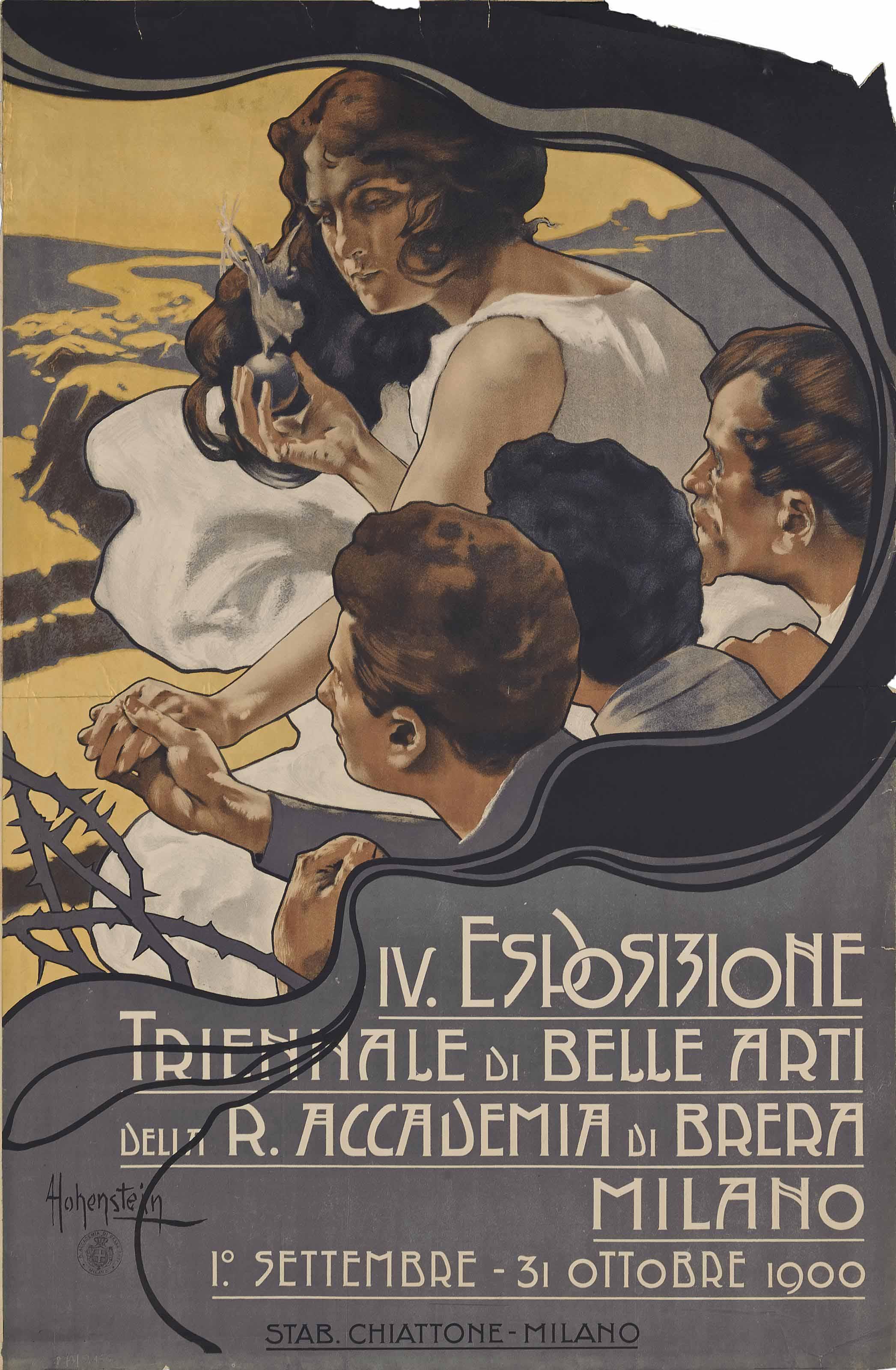 Adolfo Hohenstein (1854-1928)