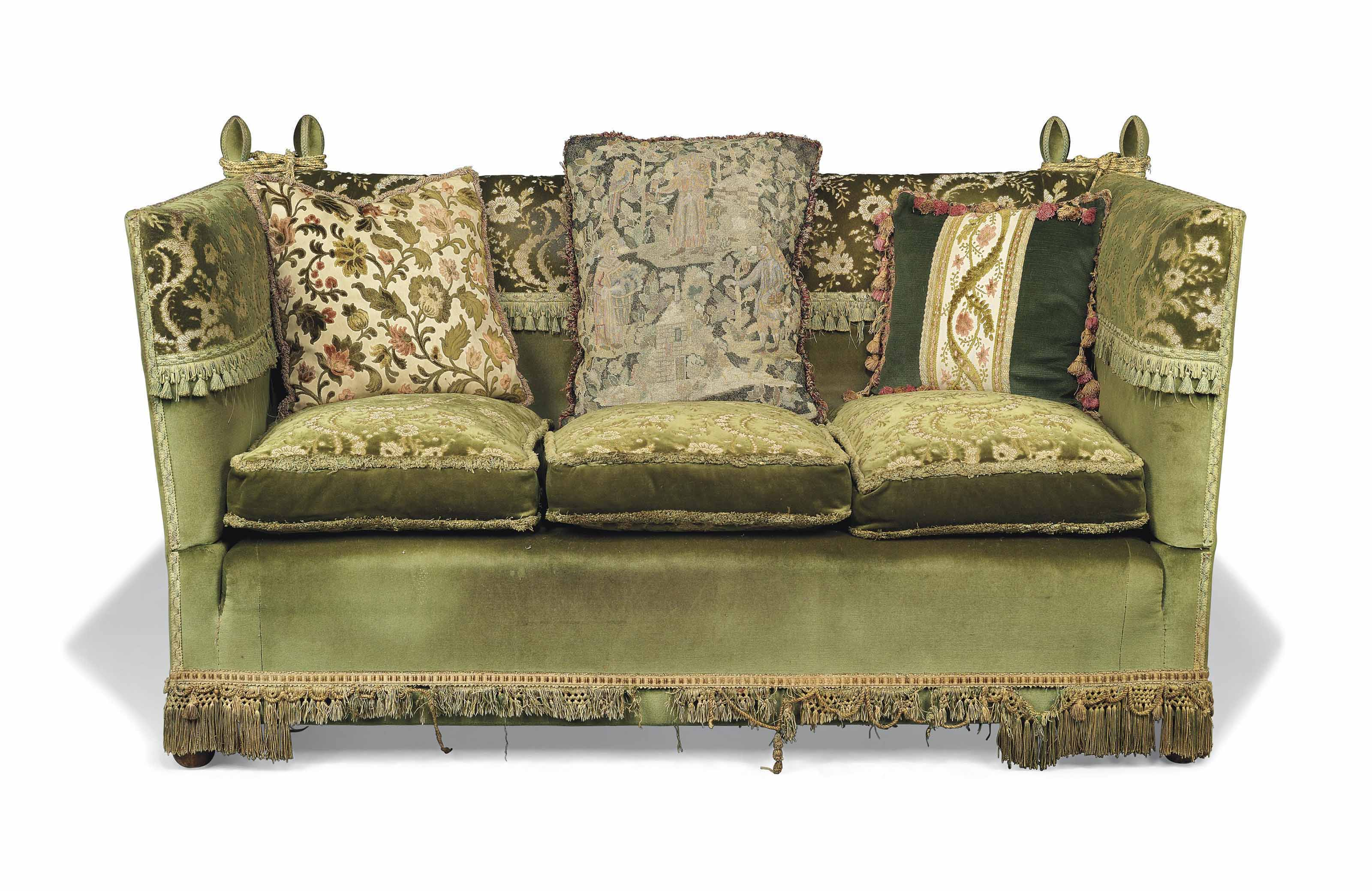 A Knole Sofa Early 20th Century