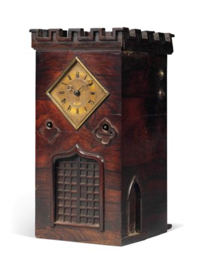 AN EARLY VICTORIAN ROSEWOOD NO
