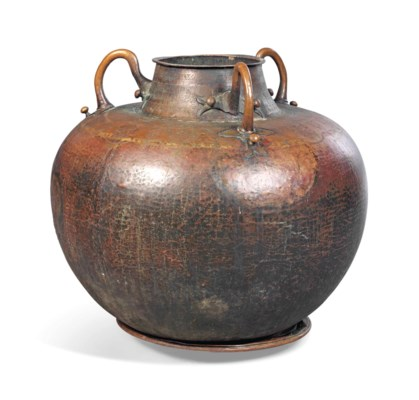 A LARGE NORTH AFRICAN COPPER T