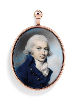 A PORTRAIT MINIATURE BY GEORGE
