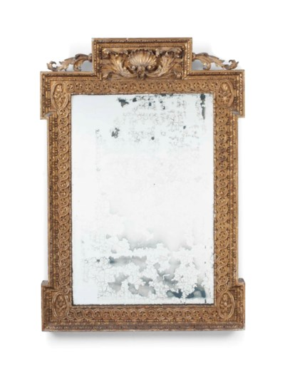 A GILTWOOD PICTURE-FRAME MIRRO