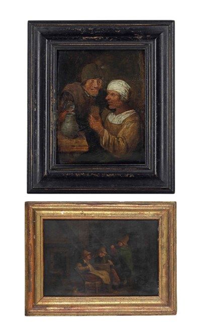 Follower of Adriaen Brouwer; a