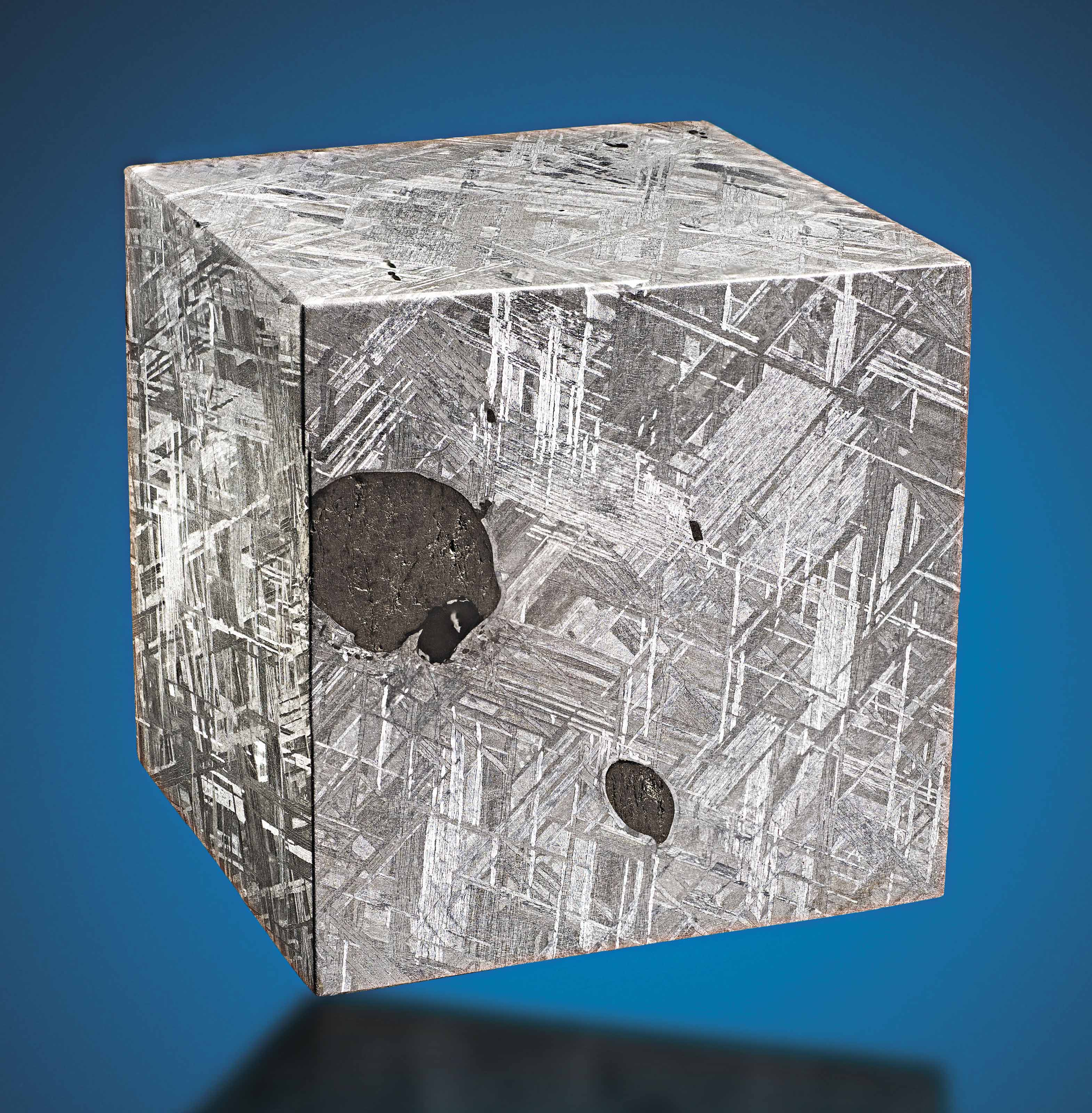 A CUBE OF MUONIONALUSTA METEOR