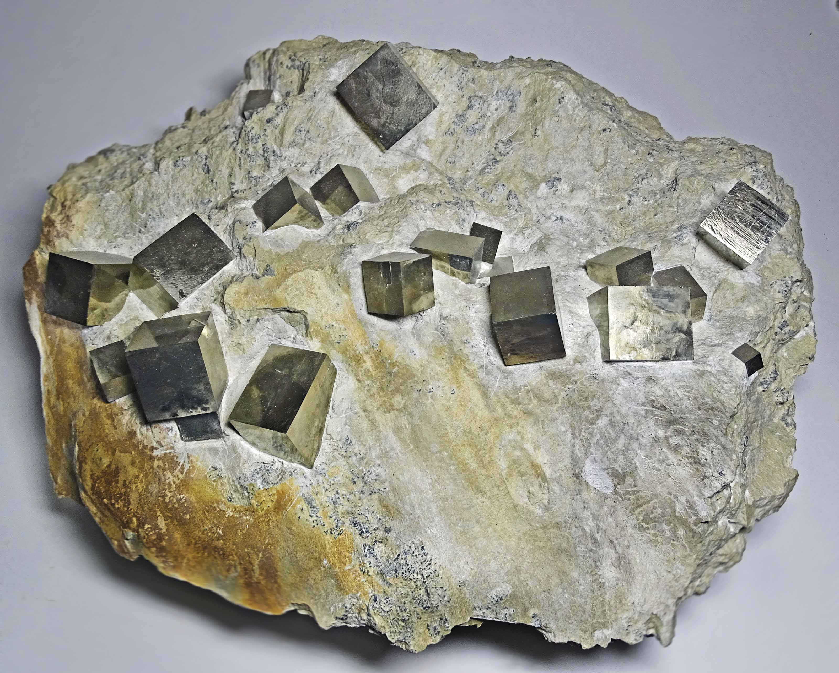 CUBES OF PYRITE