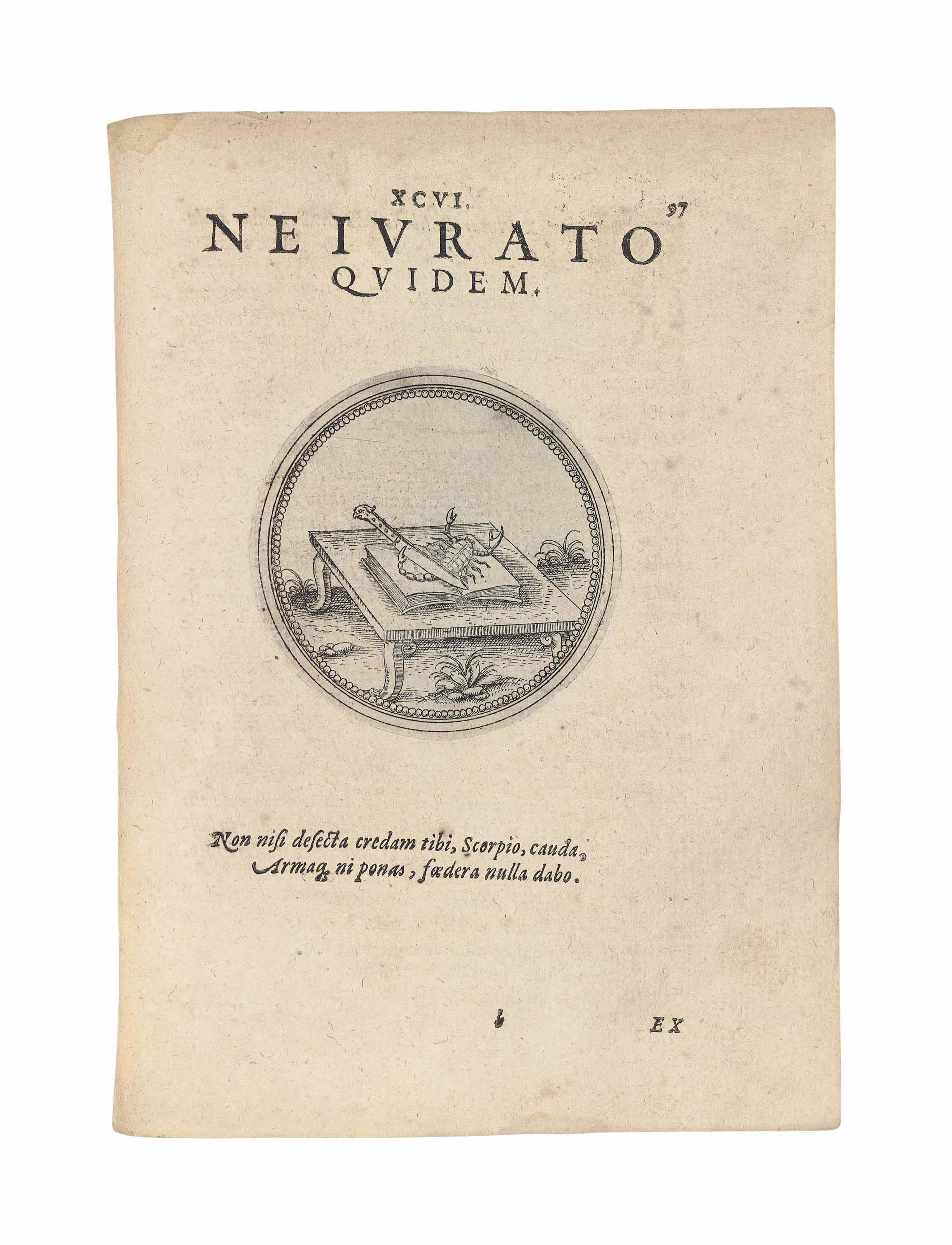 JOACHIM CAMERARIUS (1534-1598)