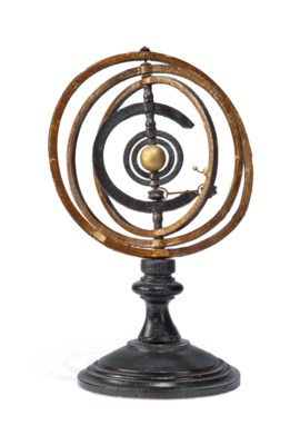 A FRENCH ARMILLARY SPHERE