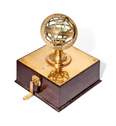A MECHANICAL ARMILLARY SPHERE
