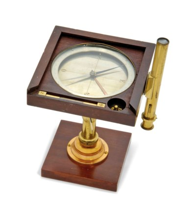 A FRENCH SURVEYOR'S COMPASS