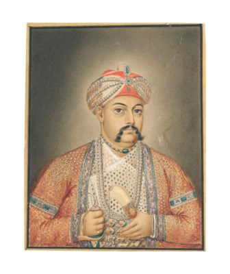 A PORTRAIT OF SHUJA AD-DAWLA,