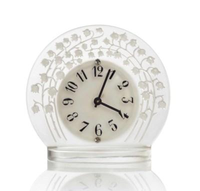 A MARLY TIMEPIECE, NO. 734