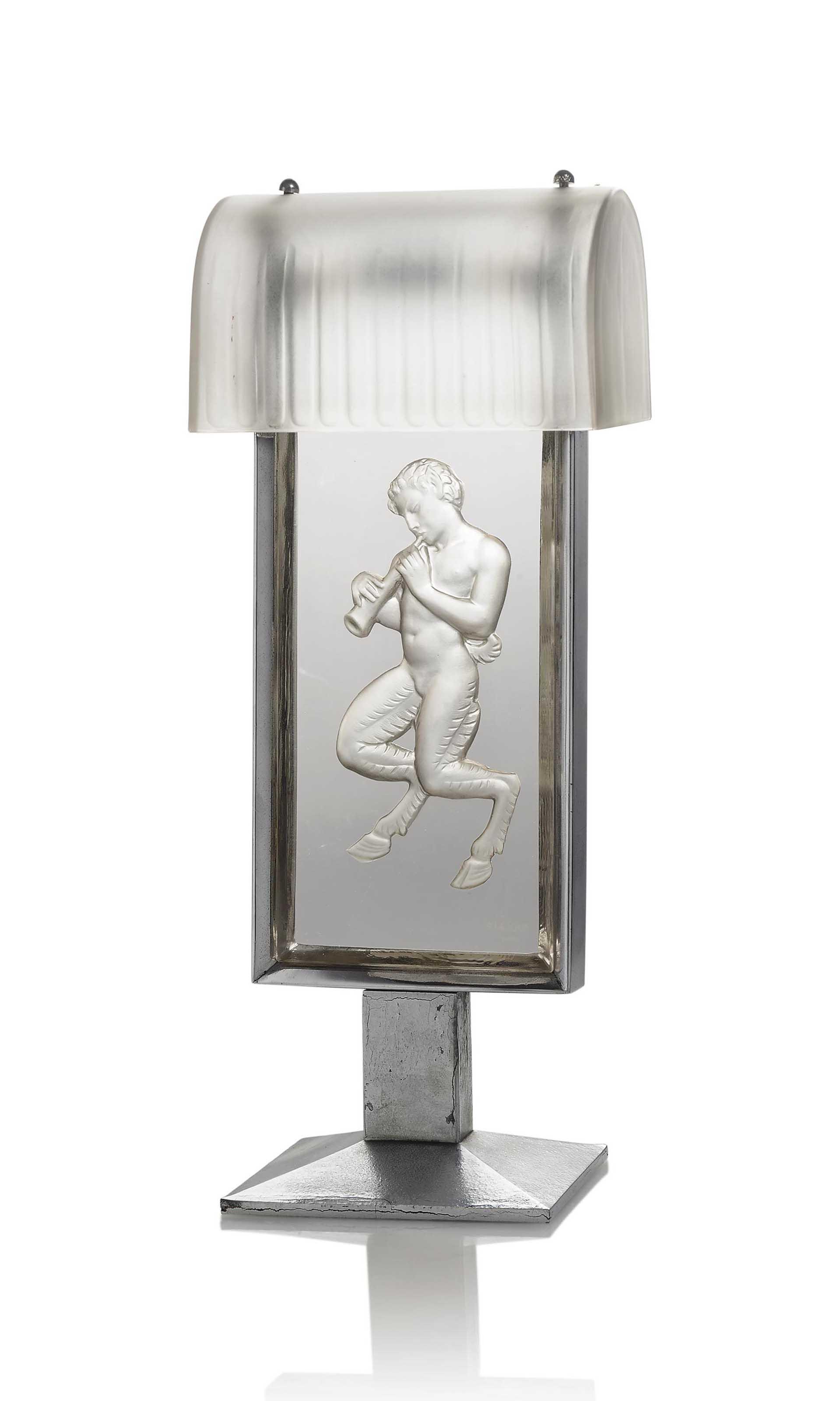 A PAN LAMP, NO. 2174