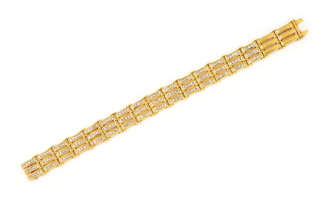 A DIAMOND-SET BRACELET, BY ADL
