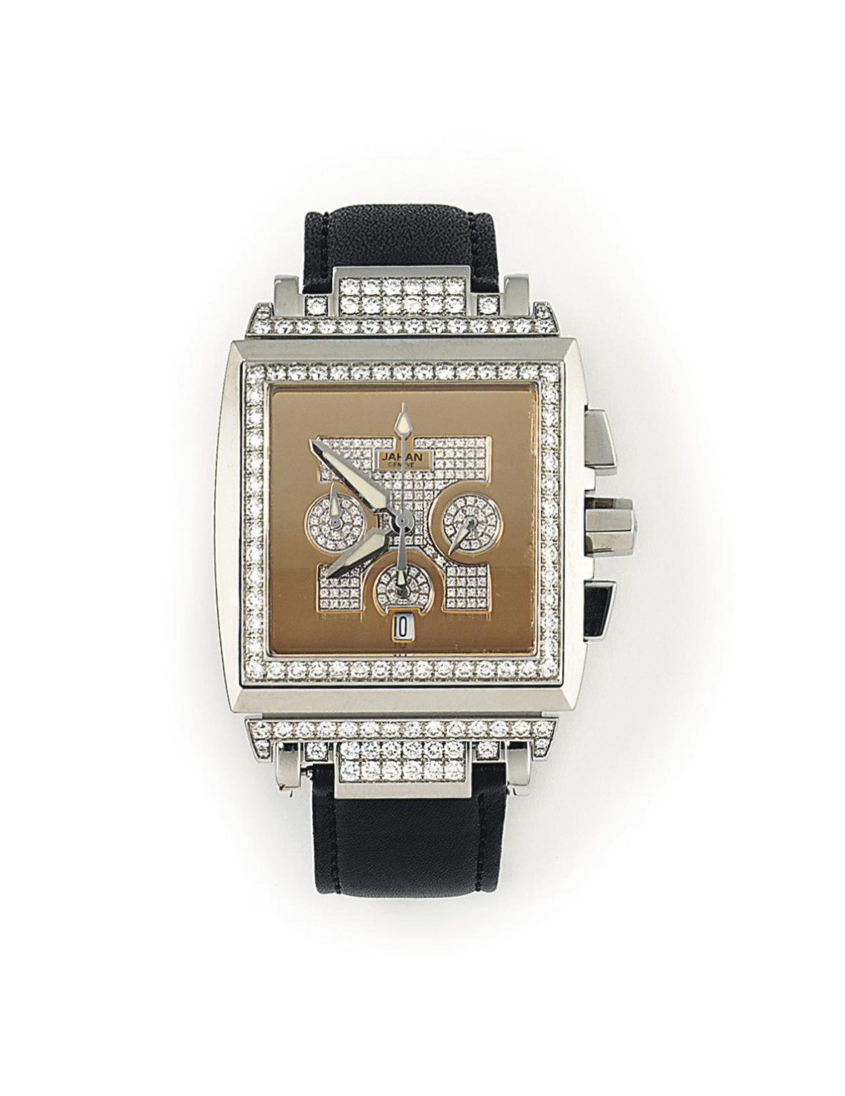 A STAINLESS STEEL AND DIAMOND
