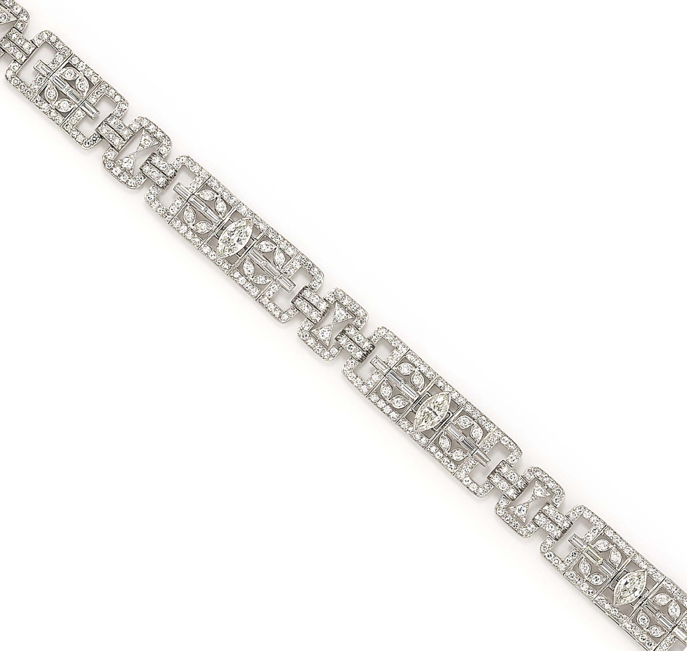 A DIAMOND-SET BRACELET, BY JAH