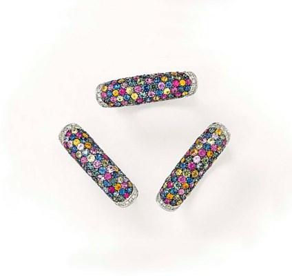 THREE DIAMOND AND VARI-COLOURE