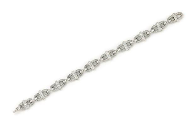 A DIAMOND-SET BRACELET