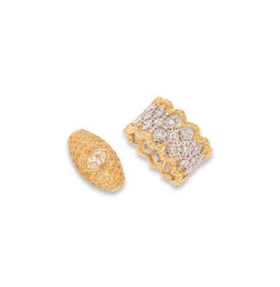 A GROUP OF GEM AND DIAMOND-SET