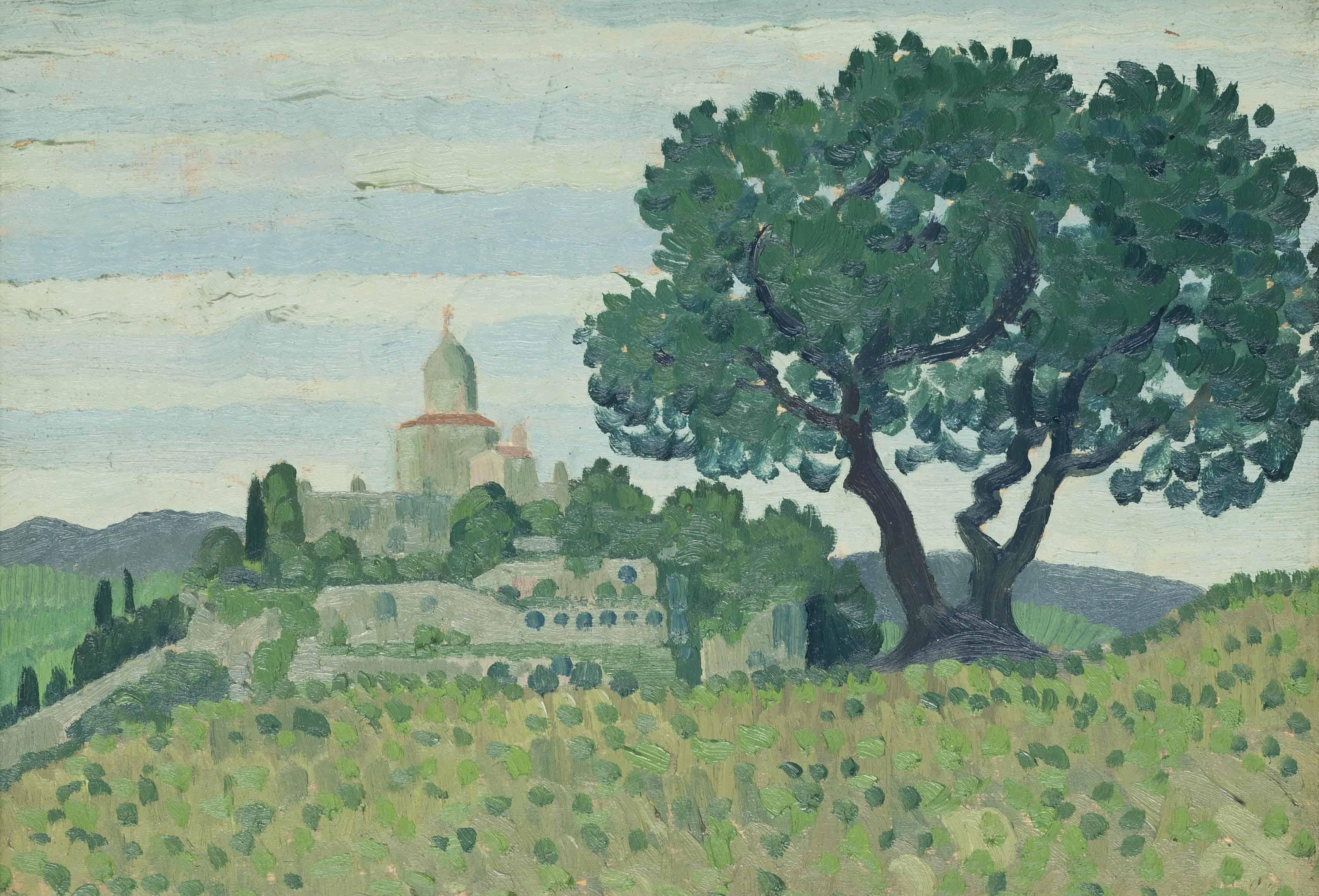 Church in a Landscape