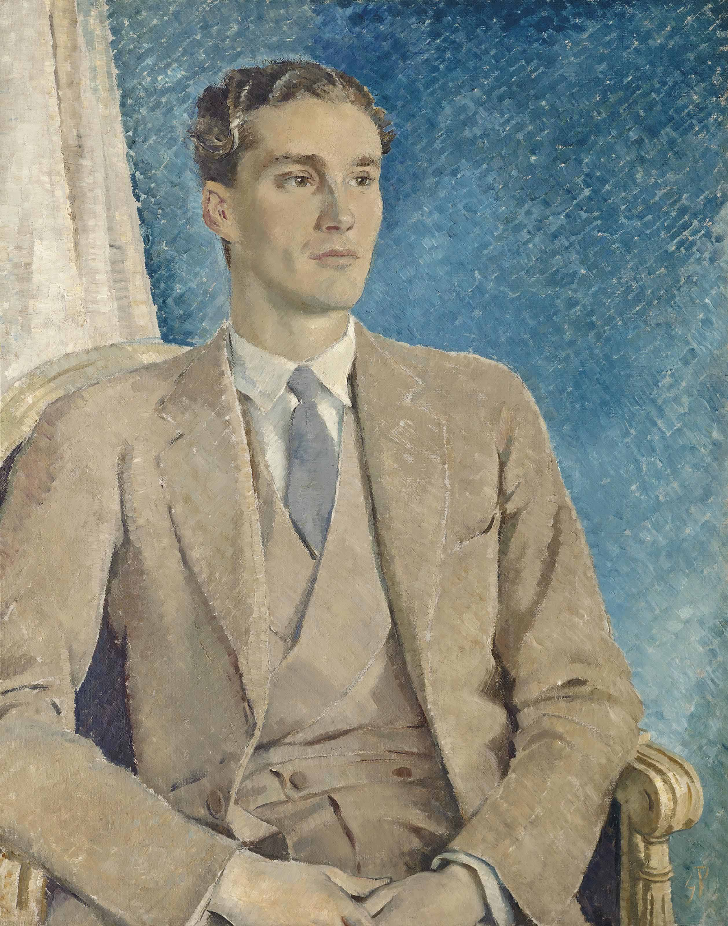 Portrait of Patrick Buchan-Hepburn, Lord Hailes