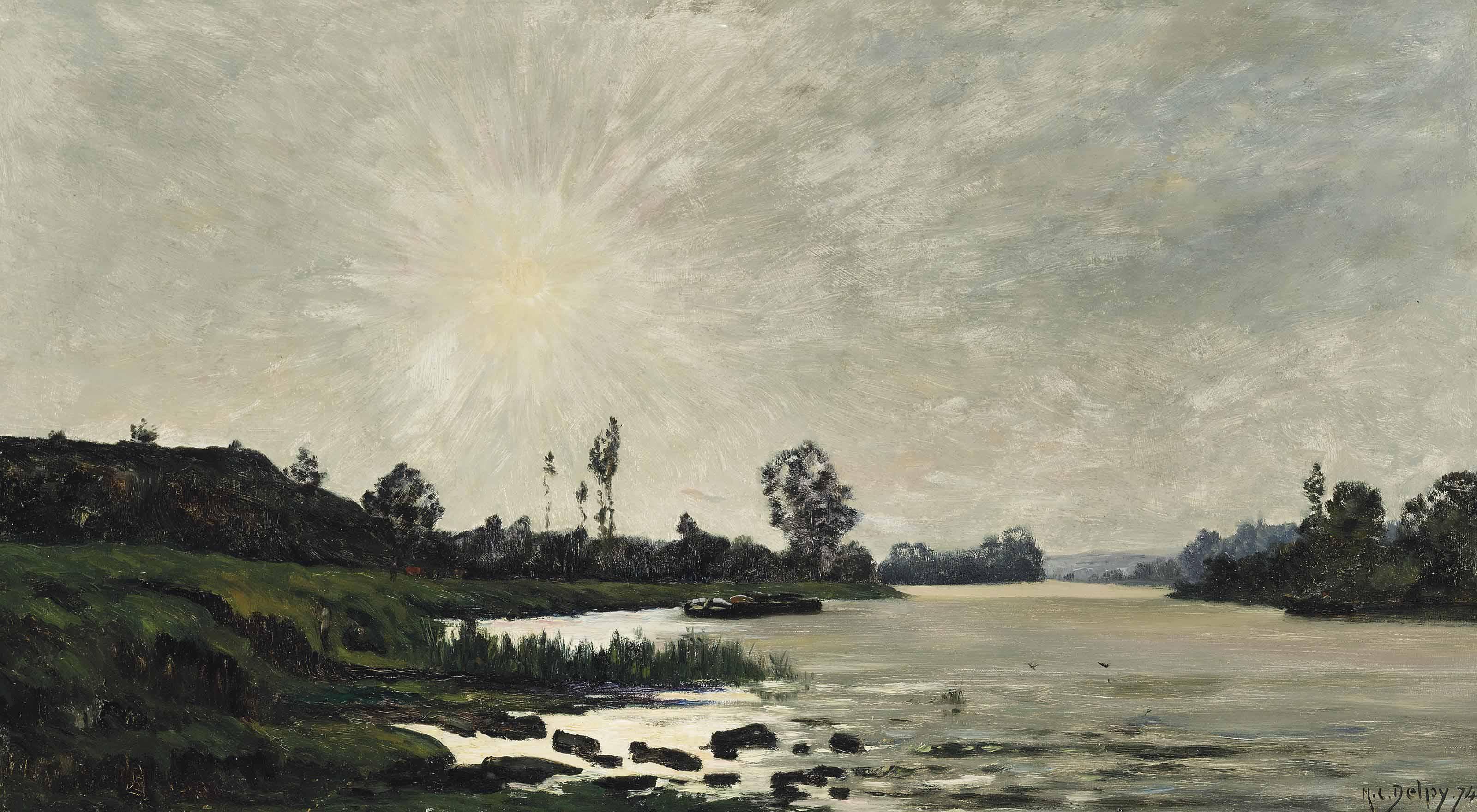 A sunlit river