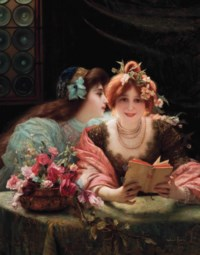 Whispers in the library