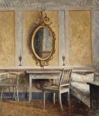 Interior at Liselund Gammel Slot