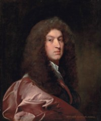 Portrait of William, Lord Russell (1639-1683), half-length, in a red coat and wig