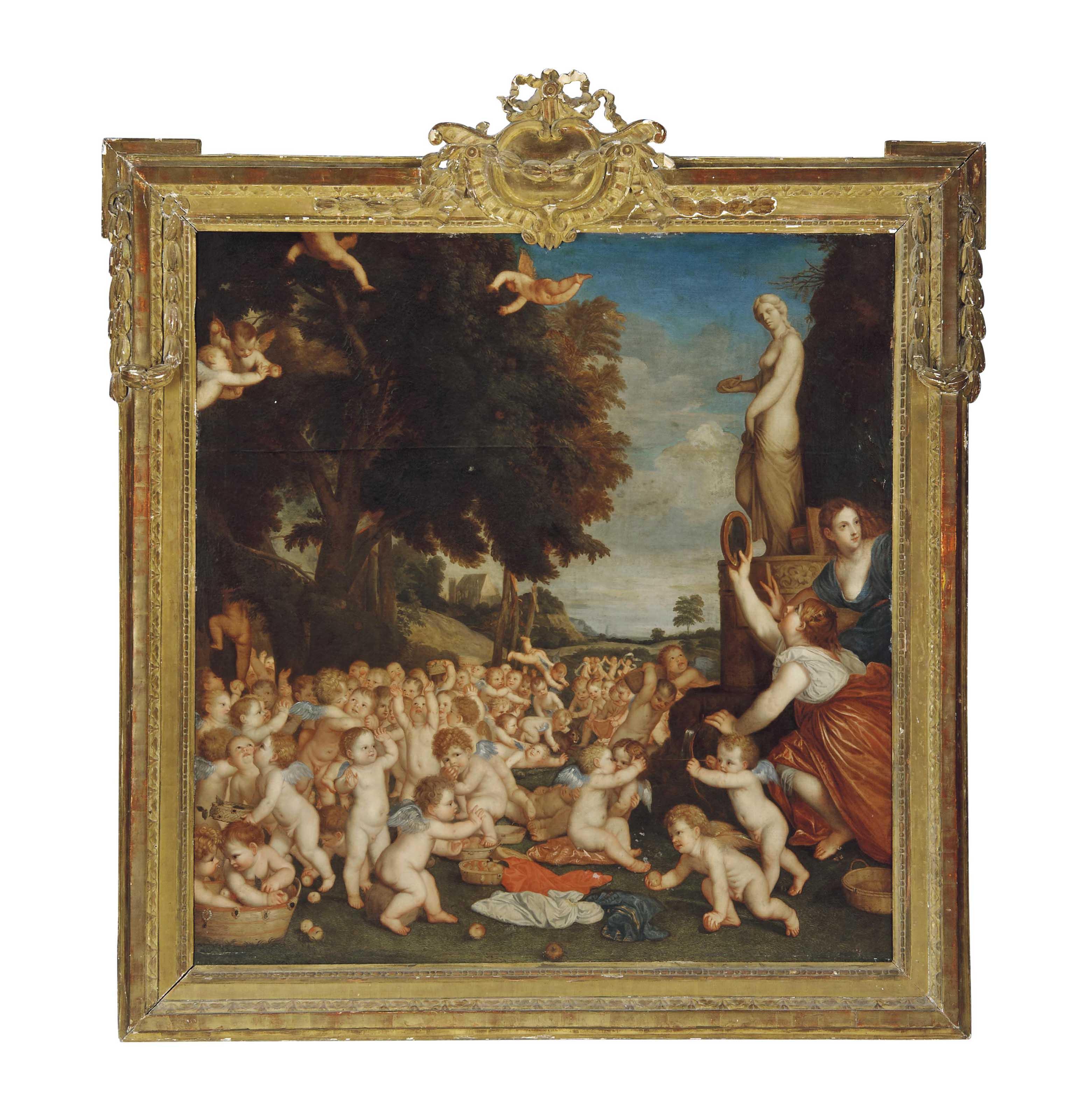 Roman School, 17th century, af