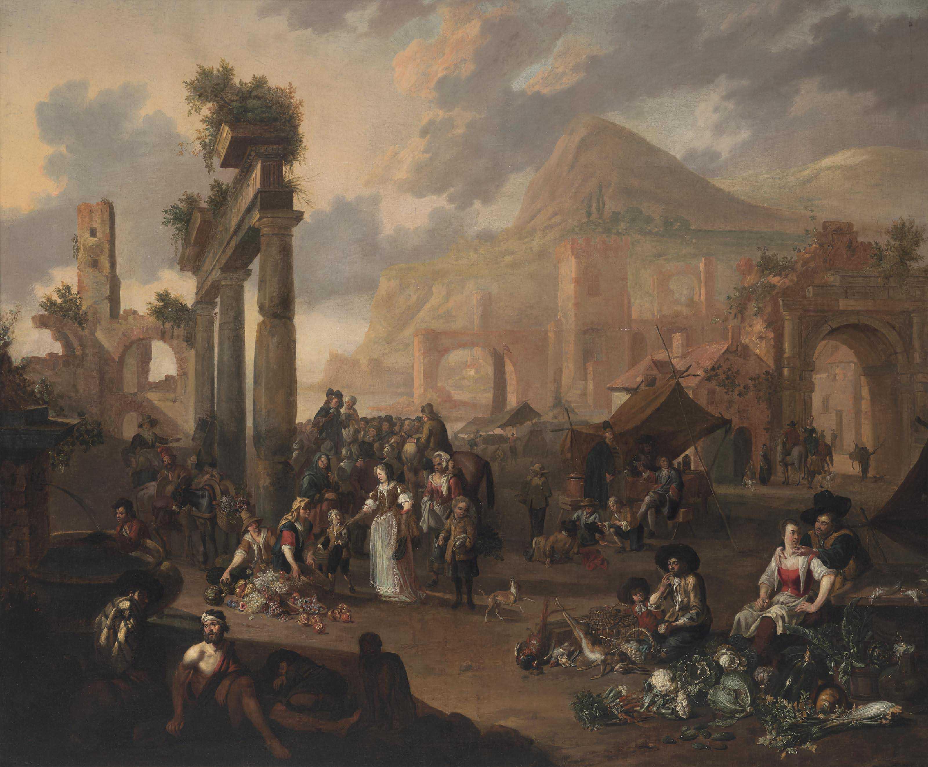 Anton Goubau (Antwerp 1616-169