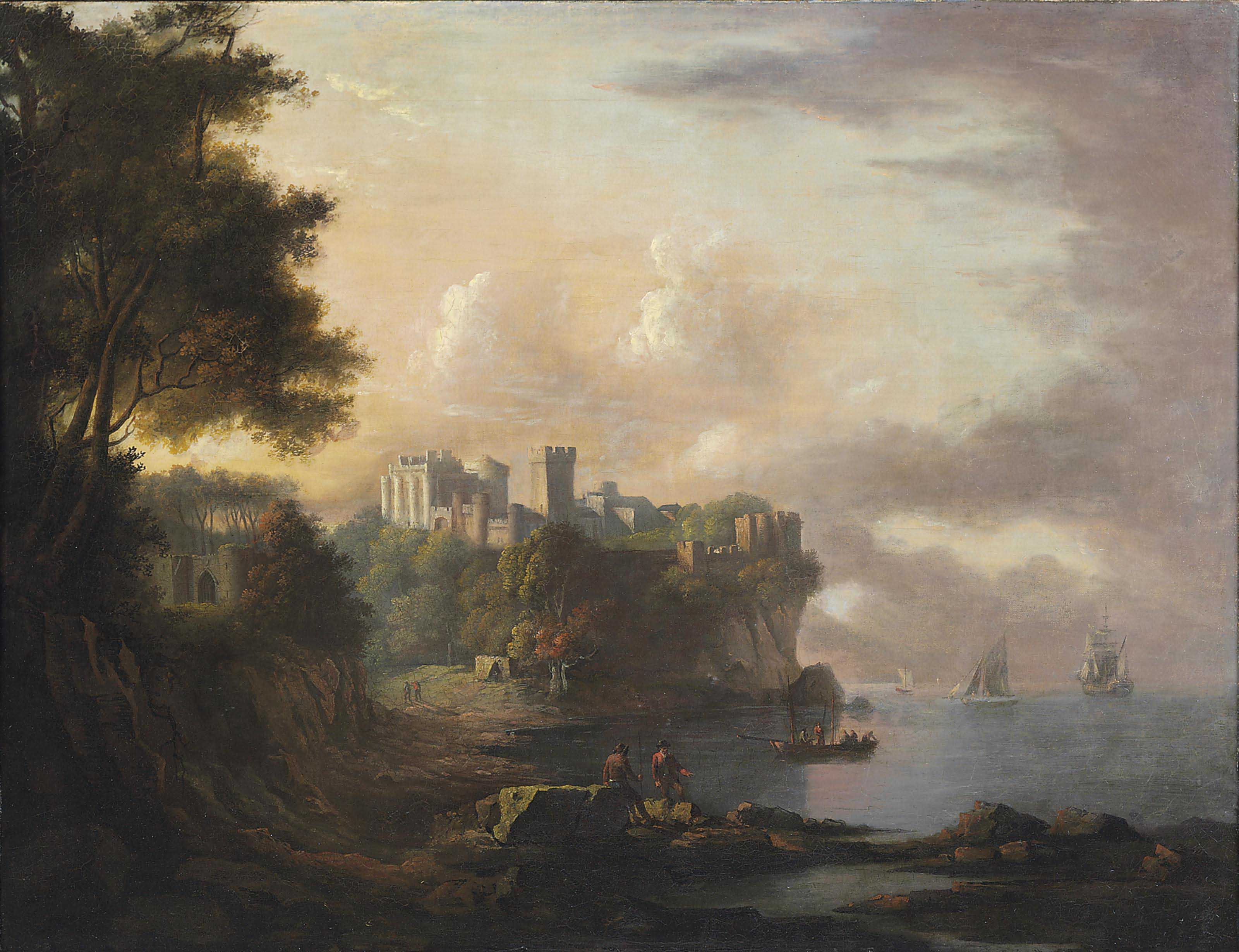 A view of Culzean from the North