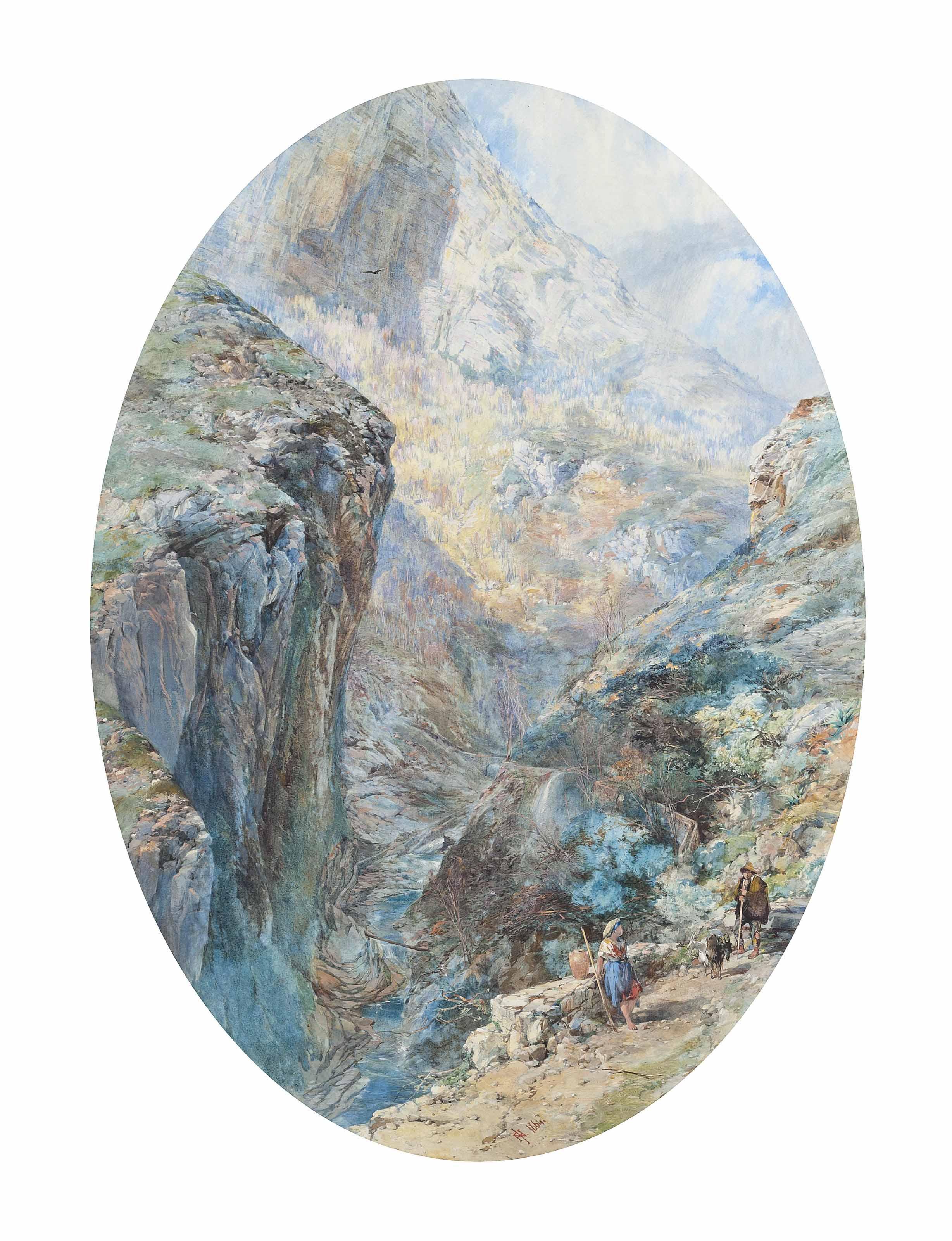 Near Amalfi, the Valley de Moulins