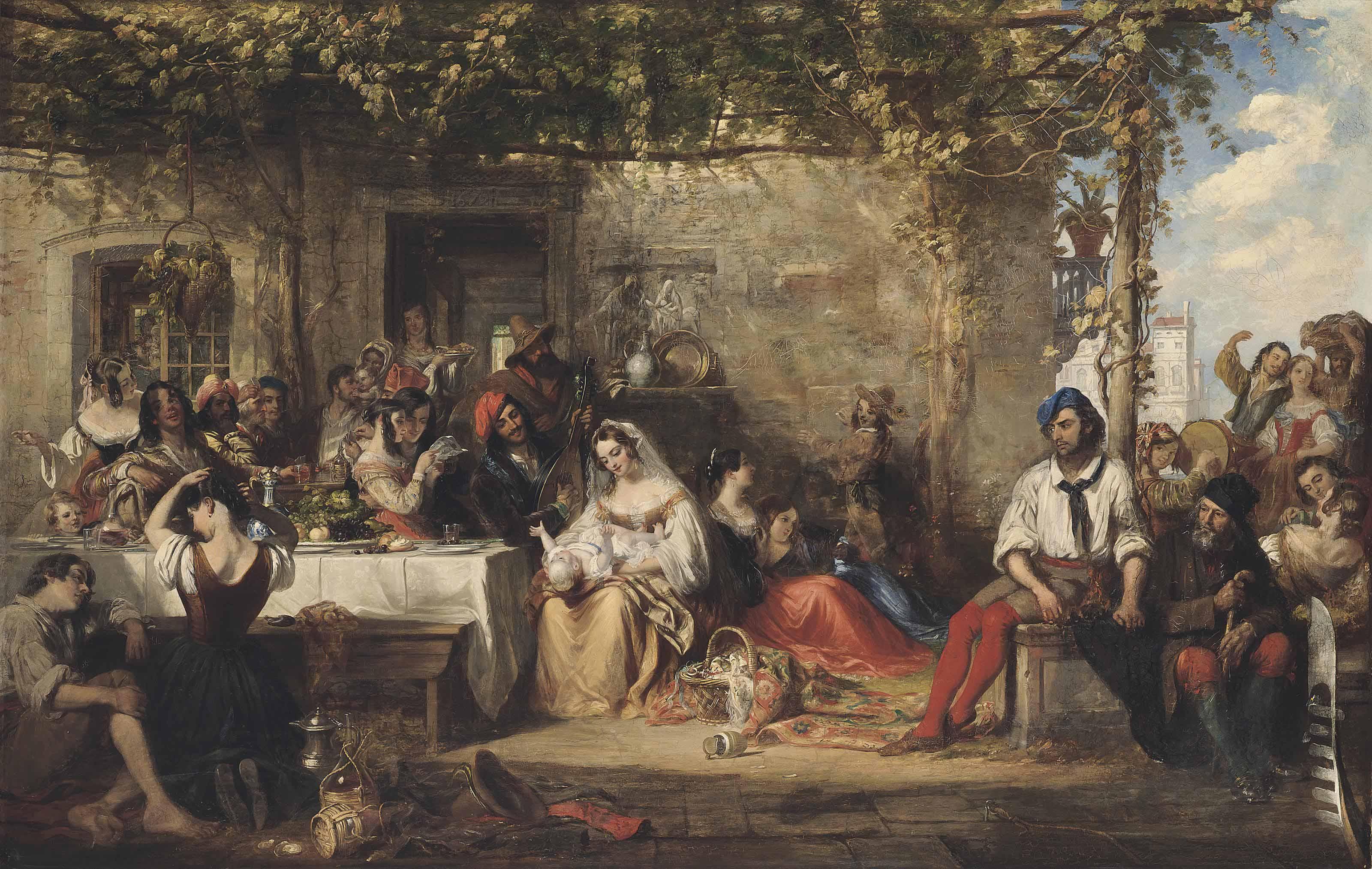 A Venetian fiesta