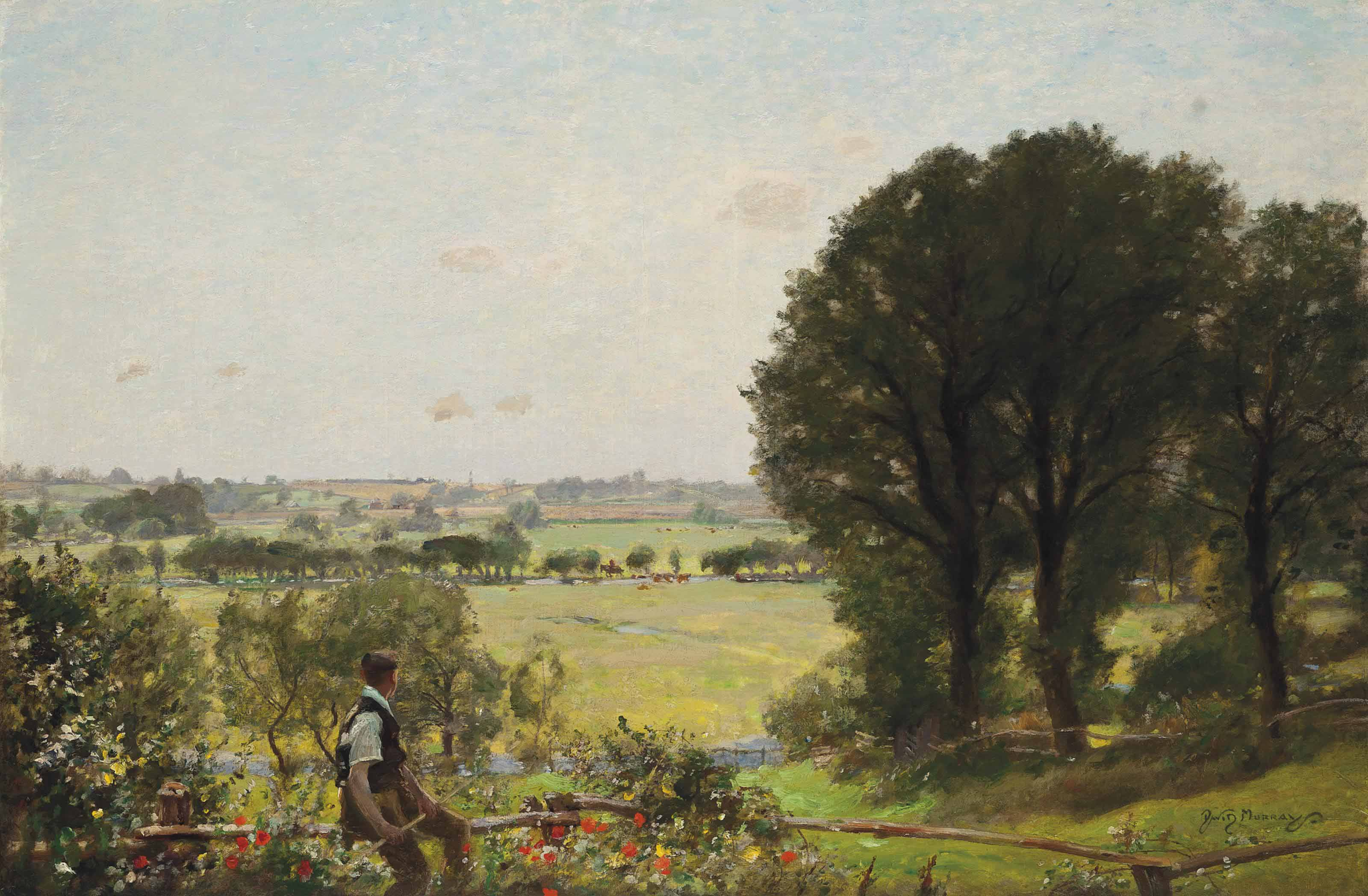 The heat of the day, Flatford