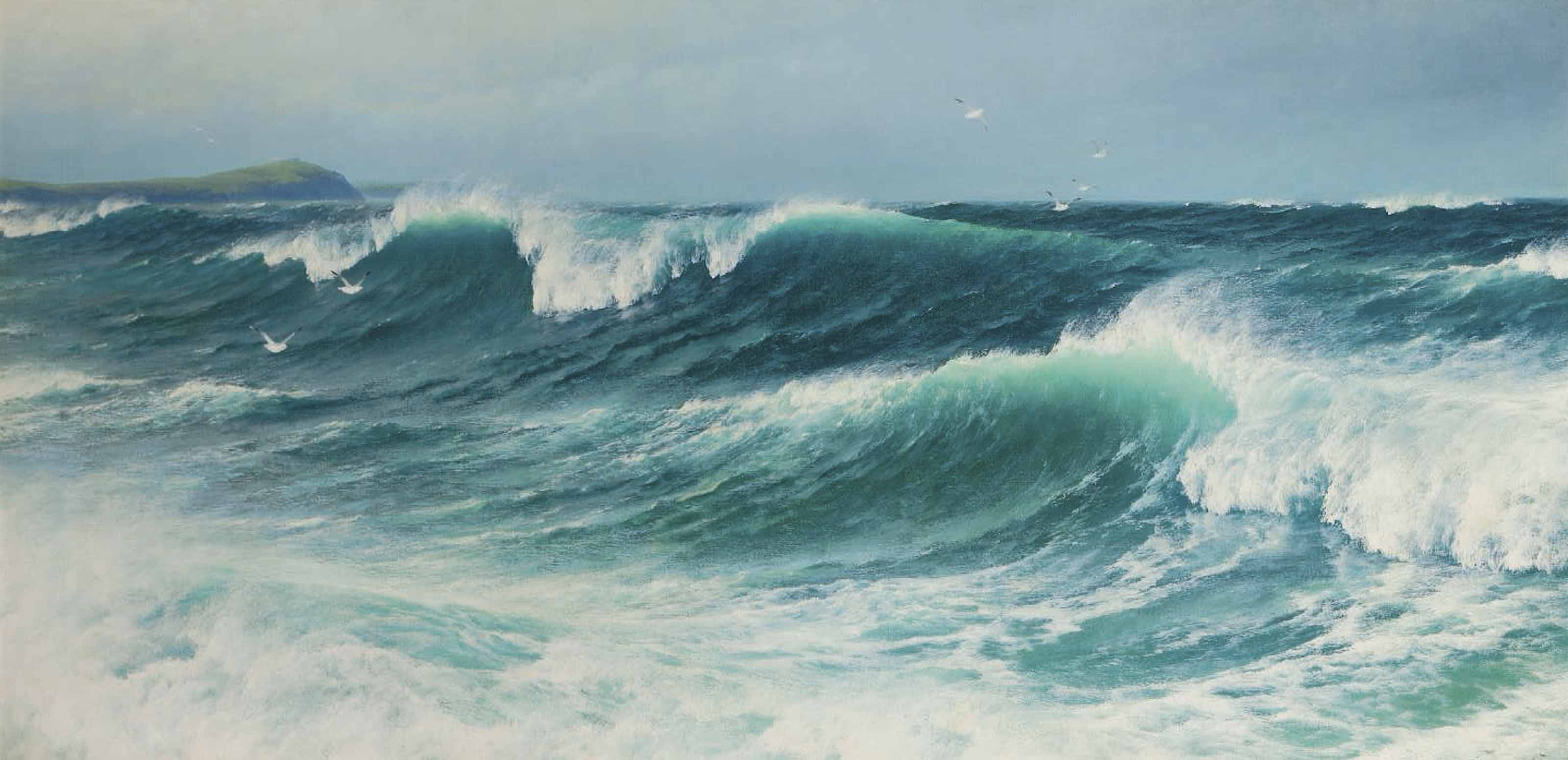 The inrushing tide