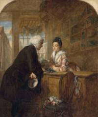 The Glove seller: A scene from Sterne's 'Sentimental Journey'