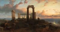 Temple of Aphaea in Aegina, Greece
