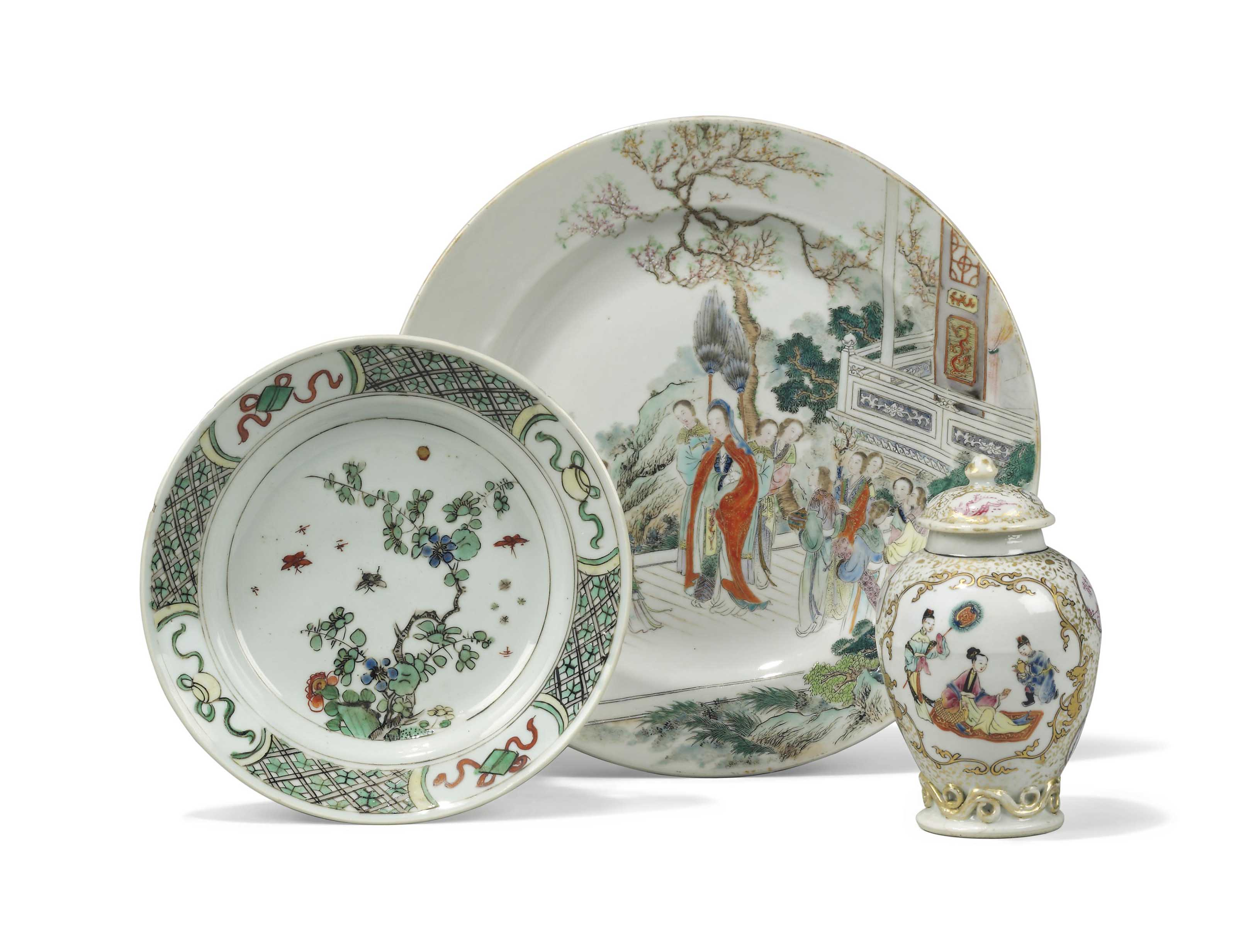 A GROUP OF CHINESE PORCELAIN W
