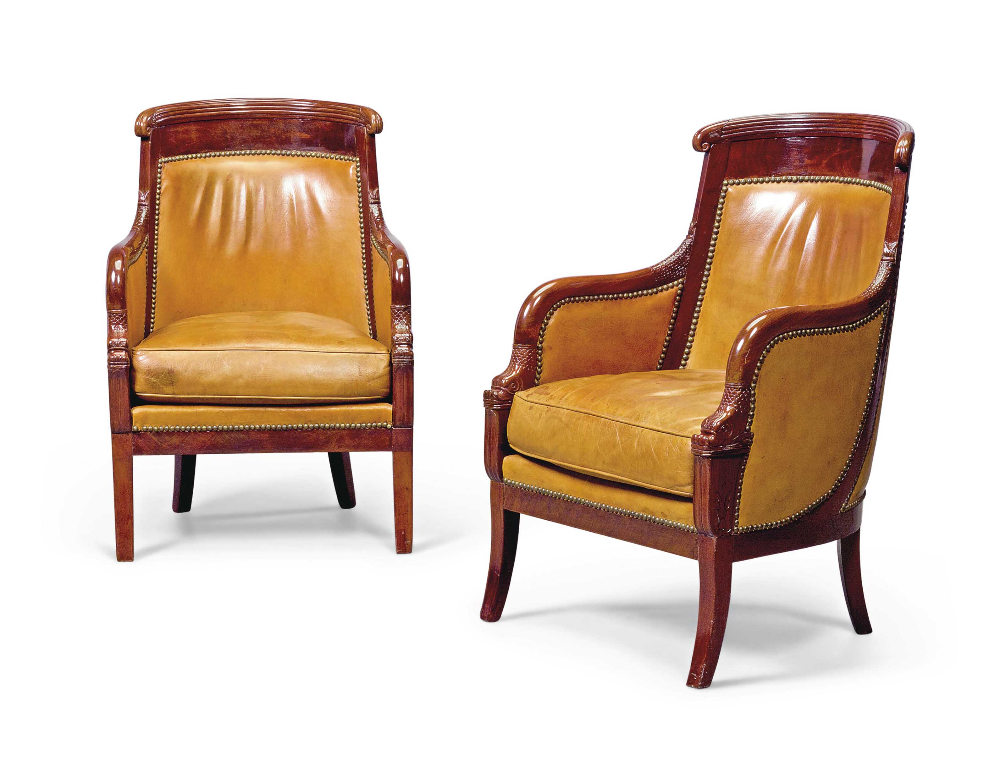 A MATCHED PAIR OF LOUIS-PHILIP