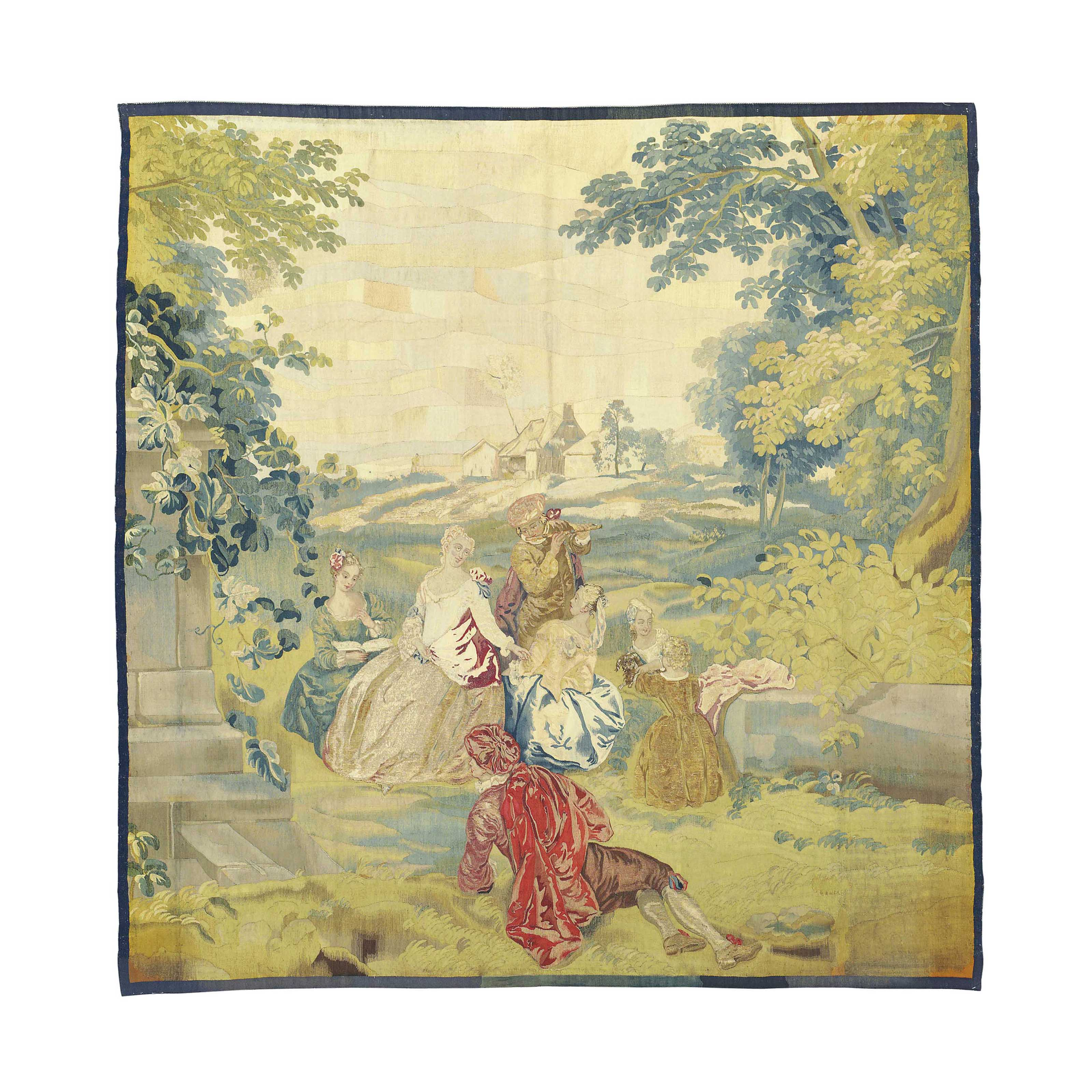 AN ENGLISH PASTORAL TAPESTRY