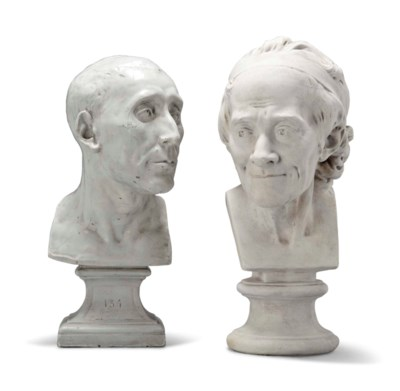 A VICTORIAN PLASTER BUST OF NI