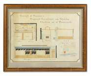 SEVEN ARCHITECTURAL DRAWINGS O