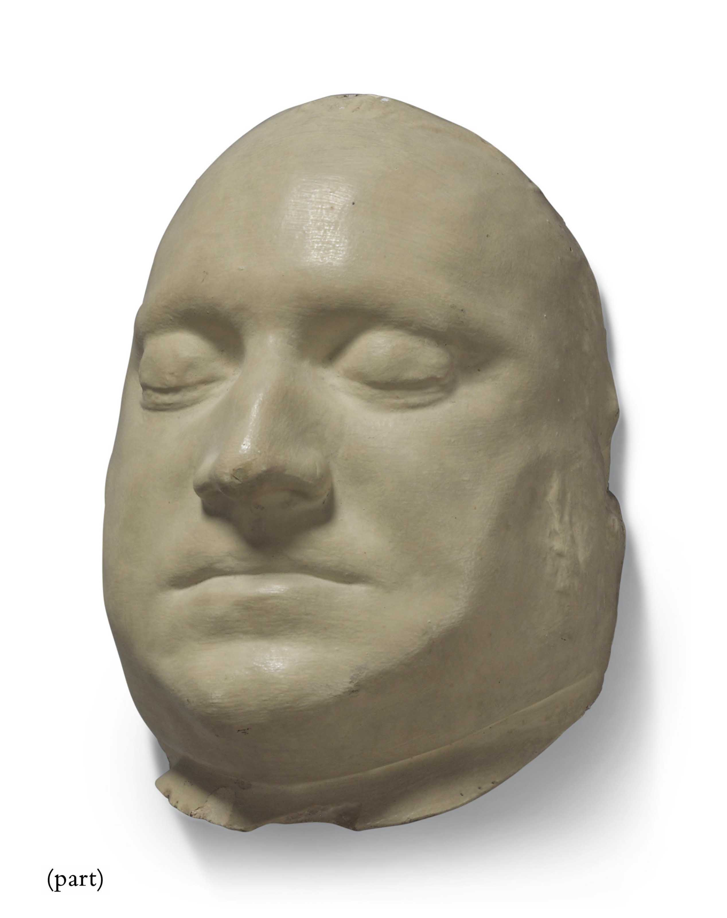A PLASTER DEATH MASK OF THE MU
