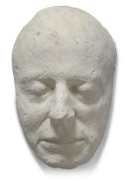 SEVEN PLASTER LIFE MASKS AND H