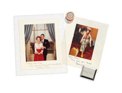 OF RONALD AND NANCY REAGAN INT