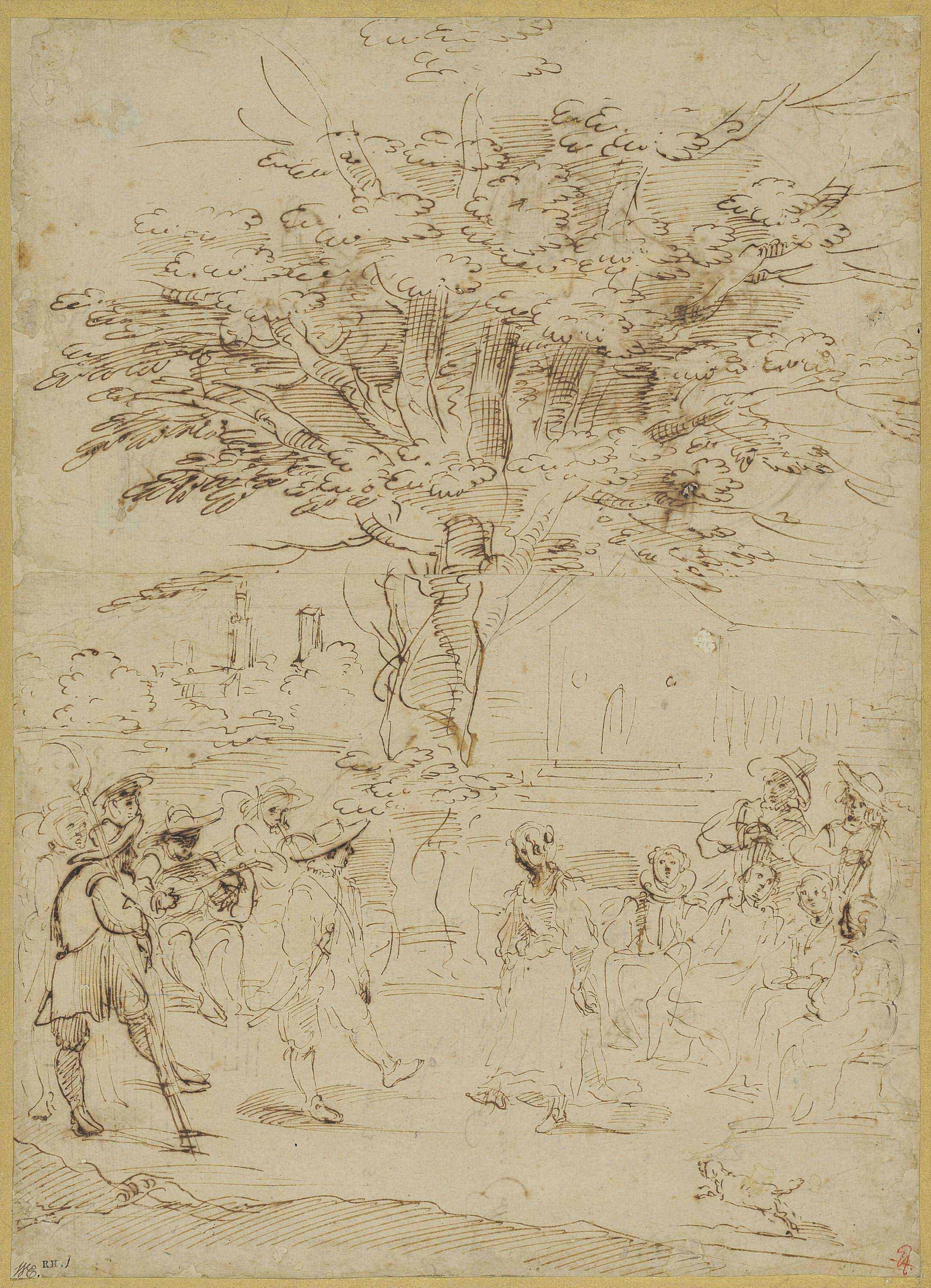 Circle of Annibale Carracci (Bologna 1560-1609 Rome)